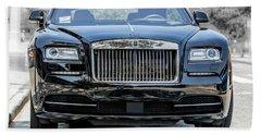 Rolls - Royce Wraith Coupe 2016 Beach Towel