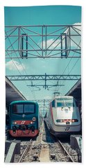 Roma Termini Railway Station Beach Towel