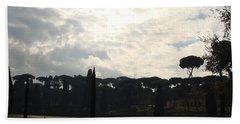 Roma, Villa Borghese Beach Towel