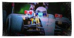 Romain Grosjean 2015 Beach Towel