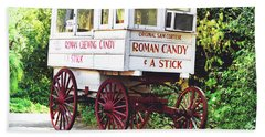 Roman Candy Beach Towel