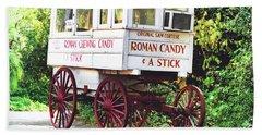 Roman Candy Beach Sheet
