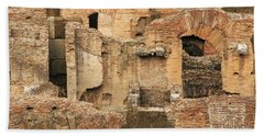 Beach Towel featuring the photograph Roman Colosseum by Silvia Bruno
