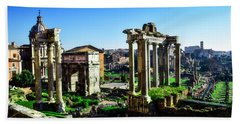 Roman Forum Beach Towel
