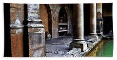 Roman Pillars  Beach Towel