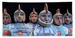 Roman Warriors - Bust Sculpture - Roemer - Romeinen - Antichi Romani - Romains - Romarere Beach Towel