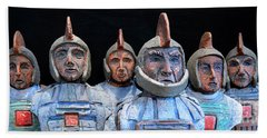 Roman Warriors - Bust Sculpture - Roemer - Romeinen - Antichi Romani - Romains - Romarere Beach Sheet