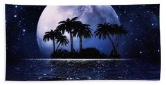 Romantic Night  Beach Towel by Gabriella Weninger - David