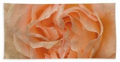 Romantic Rose Beach Towel by Jacqi Elmslie