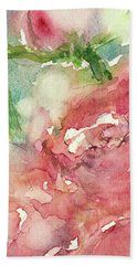 romantic Rose Beach Towel