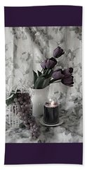 Beach Towel featuring the photograph Romantic Thoughts by Sherry Hallemeier