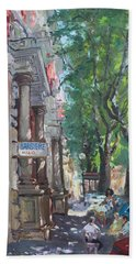 Rome A Small Talk By Barbiere Mario Beach Towel