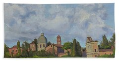 Rome Afternoon Beach Towel