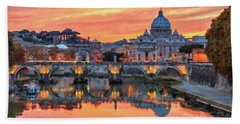 Rome And The Vatican City - 01  Beach Towel