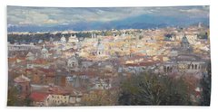Rome Da Giannicolo - 2016 Beach Towel