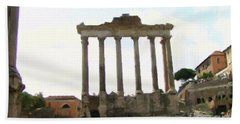 Rome The Eternal City Beach Towel
