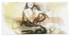 Romeo And Juliet Beach Towel by Mo T