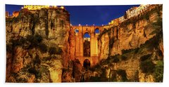 Ronda By Night Beach Towel