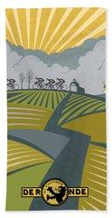 Ronder Van Vlaanderen Beach Sheet by Sassan Filsoof