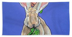 Ronnie The Rabbit Beach Towel
