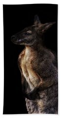 Roo Beach Towel by Martin Newman