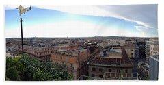 Rooftops Of Rome Beach Sheet