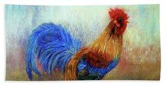 Rooster Beach Towel by Loretta Luglio