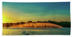 Rooster Tail Beach Towel