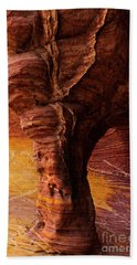 Tree Of Stone Beach Towel