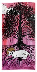 Rooted In Him Beach Towel