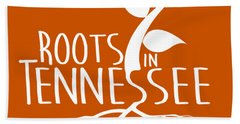 Roots In Tennessee Seedlin Beach Towel