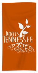 Roots In Tennessee Seedlin Beach Towel