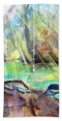 Rope Swing Beach Towel