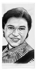 Rosa Parks Beach Sheet