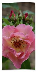 Rose And Buds Beach Towel