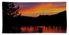 Rose Canyon Morning Beach Towel