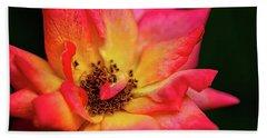 Rose Corolla Beach Towel