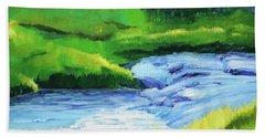 Rose Creek Summer Beach Towel