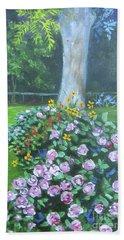 Rose Garden Beach Sheet