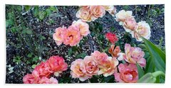 Beach Sheet featuring the photograph Rose Garden by Sadie Reneau