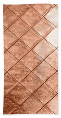 Rose Gold Crush Beach Sheet