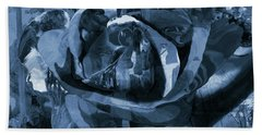 Rose No 1 Beach Towel by David Bridburg