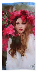 Rose Of Odessa Beach Towel