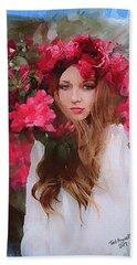 Rose Of Odessa Beach Sheet