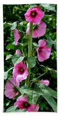 Rose Of Sharon Vine Beach Sheet