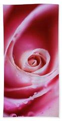 Rose Pink Beach Towel