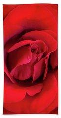 Rose Red 4 Beach Towel