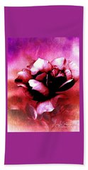 Rose Rose  Copyright Mary Lee Parker  Beach Towel by MaryLee Parker