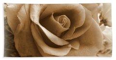 Rose Vignette Beach Sheet