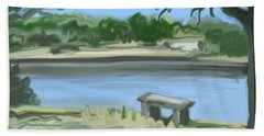 Rosemary Lake Beach Towel